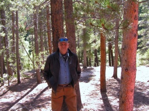 David Cook on the Wind River Trail in RMNP above Estes Park